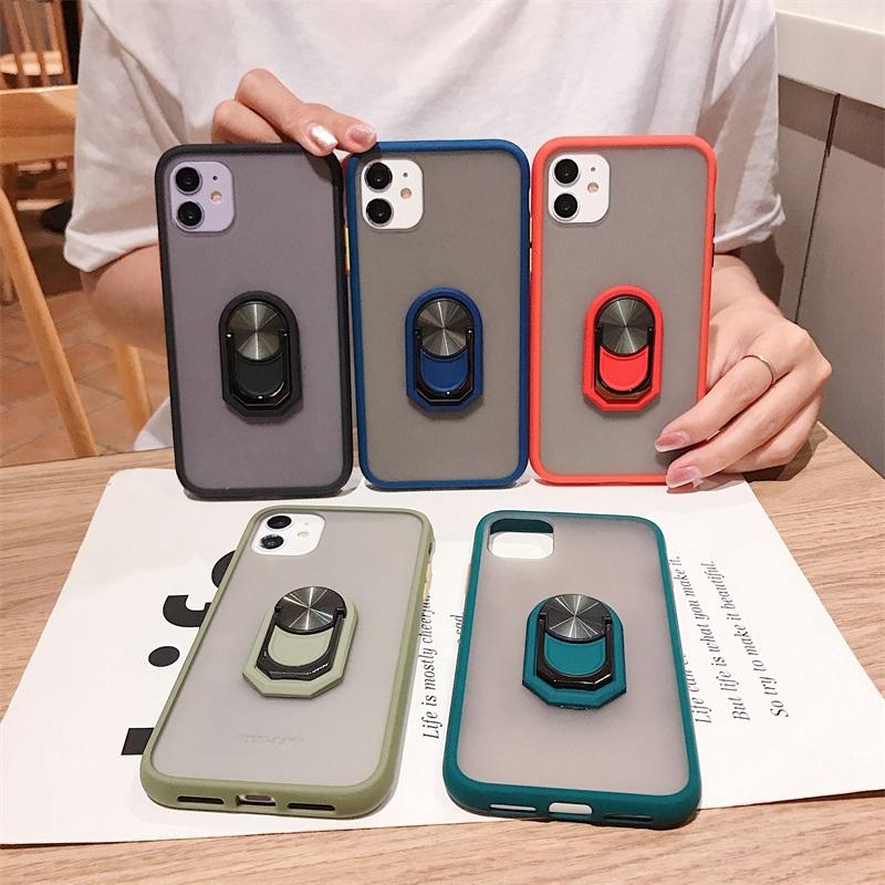 เคสแข็ง Samsung J7 J5 J2 Prime J4 J6 Plus J8 2018 A7 A9 2018 A9s A9 Star Pro Hard Phone Case With Ring AI139