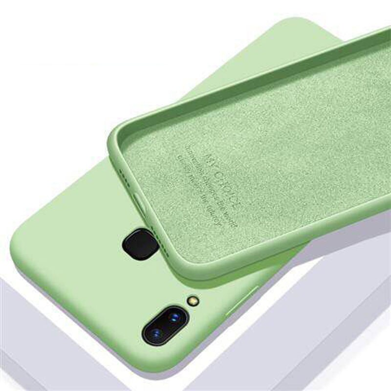 Ready Stock Original Silicone Gel Case For Samsung Galaxy S10 Lite Note8 Note 9 Note 10 Pro Samsung A6 A20 A30 A7 2018 Cover