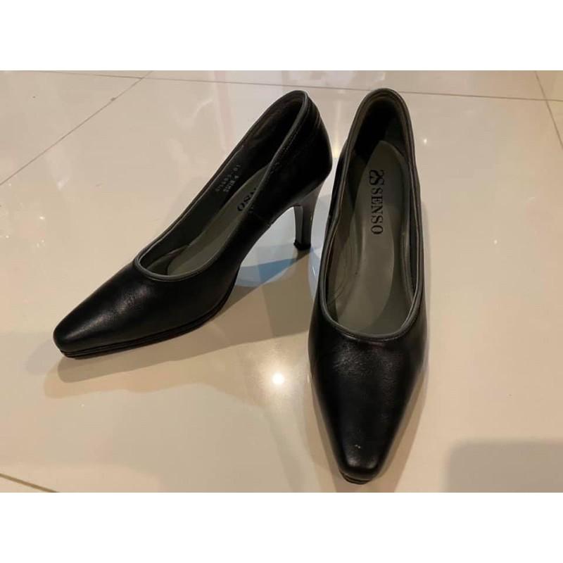 รองเท้ามือสอง รองเท้าคัชชู คัชชู คัชชูสีดำ รองเท้าใส่ทำงาน รองเท้าผู้หญิง