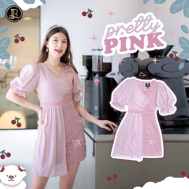 BLT    (pretty pink) ❌❌เหลือไซส์XS❌❌