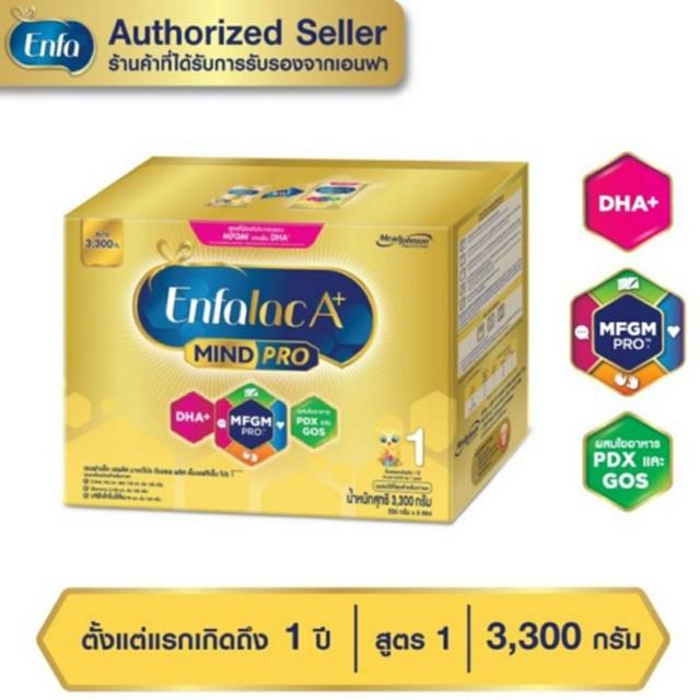 ของเล่น enfagrow ENFALAC  นมผงเอนฟาแล็คA+ สูตร 1 สำหรับทารกแรกเกิดถึง1ปี ขนาด 3,300 กรัม (1 กล่อง)
