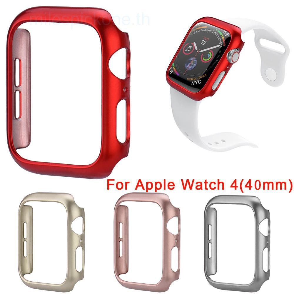 Apple Watch 4 40mm Ultra Thin PC Spray Protection Case Anti Fall Anti Scratch Protection Case