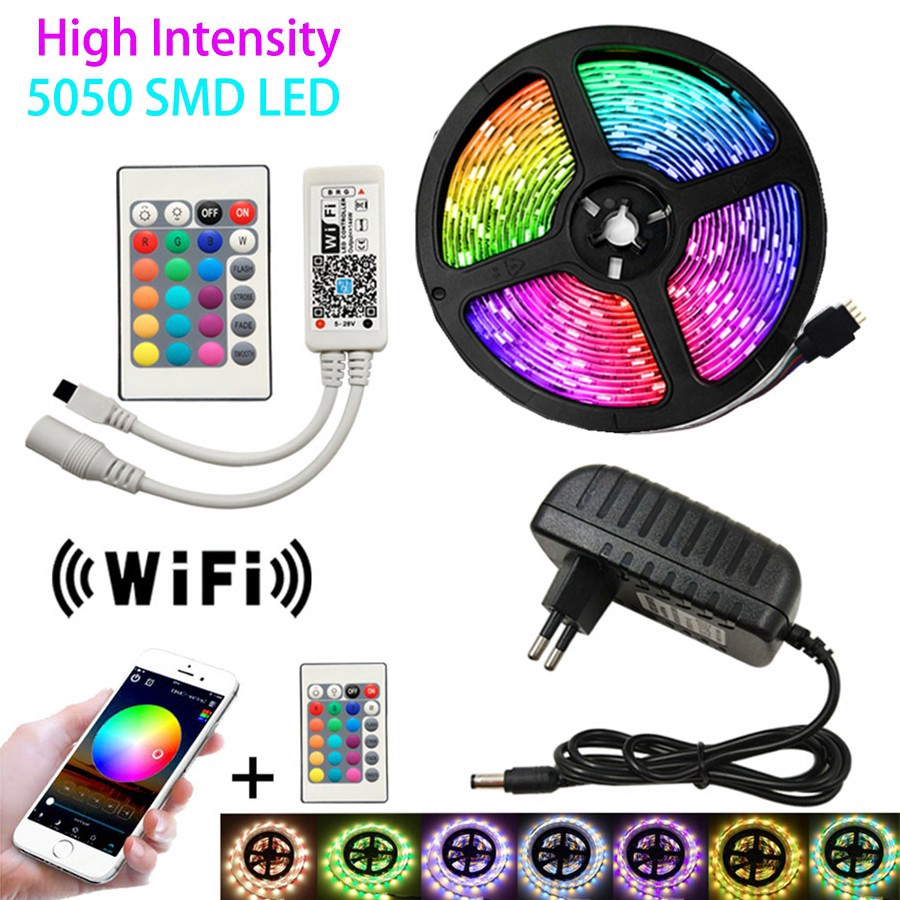 5LED 6pcs  MULTIO-FUNCTION  PUSH LIGHTS BATTERY OPERATED  WIRELESS REMOTE SMD