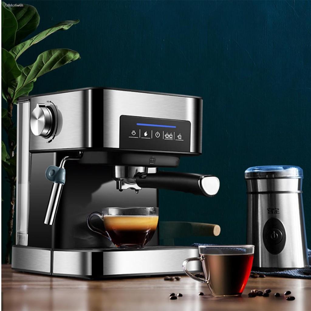 ▩เครื่องชงกาแฟ เครื่องชงกาแฟเอสเพรสโซ การทำโฟมนมแฟนซี การปรับความเข้มของกาแฟด้วยตนเอง เครื่องทำกาแฟาดเล็ก เครื่องทำกาแฟ