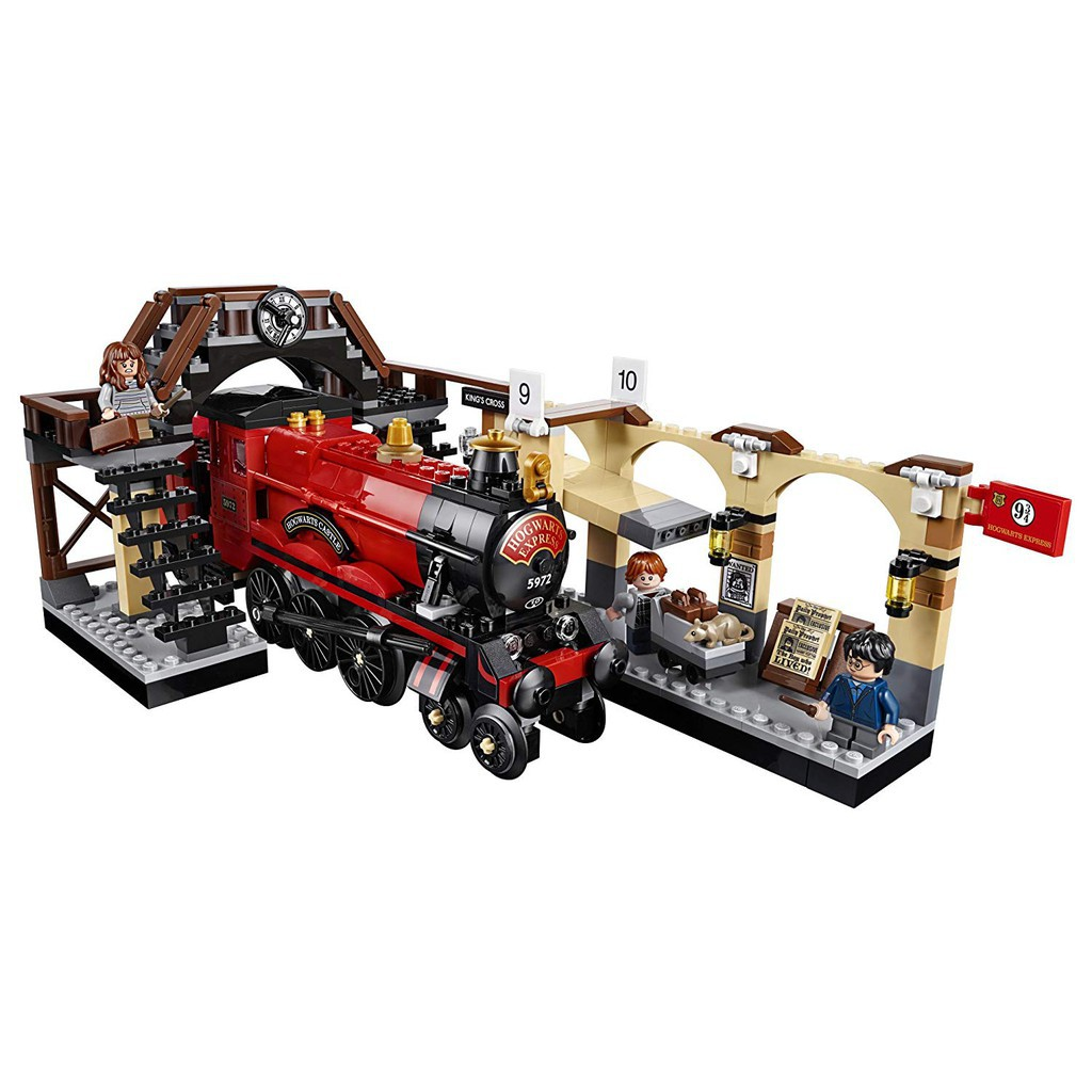 LEGO Harry Potter Hogwarts Express Building Kit 801 Pieces Railway Bridge Figure