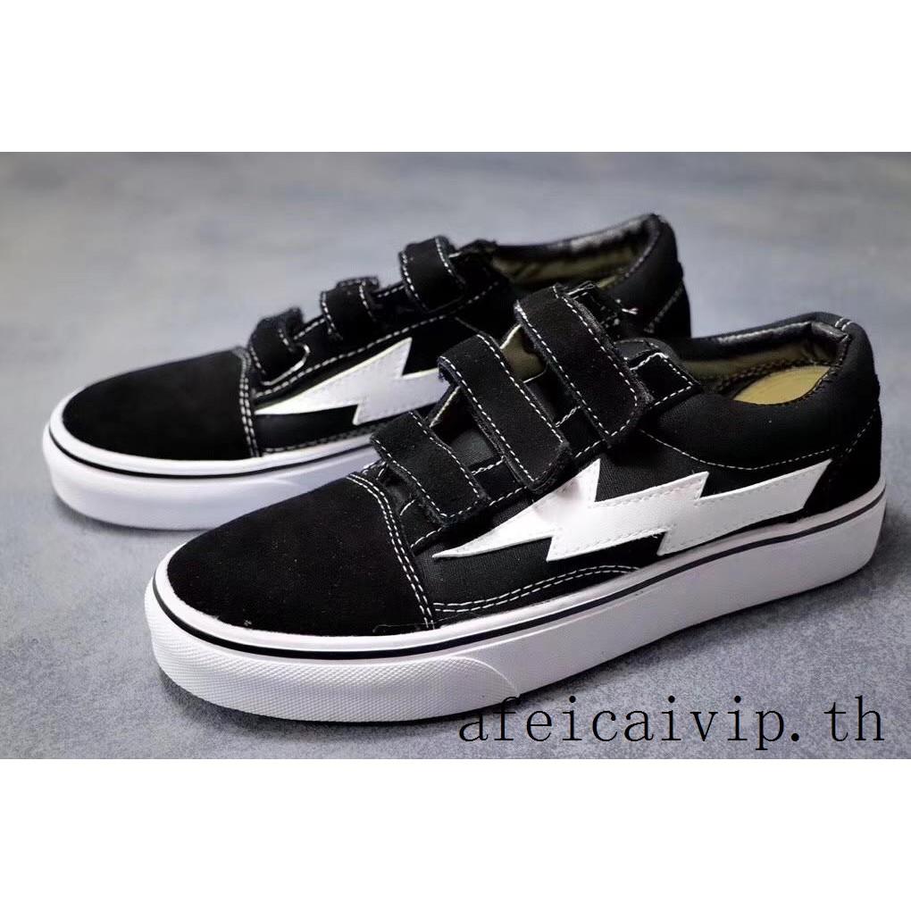 รองเท้าผ้าใบ Vans REVENGE x STORM สีดำ