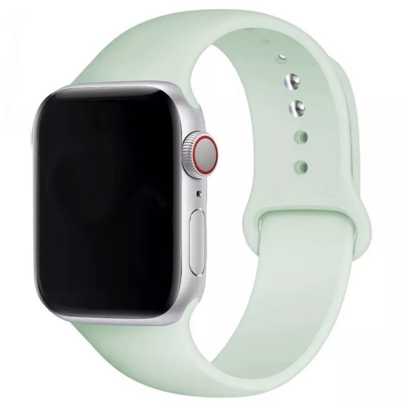 ❡✙พร้อมส่ง‼️สาย สำหรับ Apple Watch สีมาใหม่ series 6 5 4 3 2 1 applewatch ขนาด  42mm 44mm 38mm 40mm