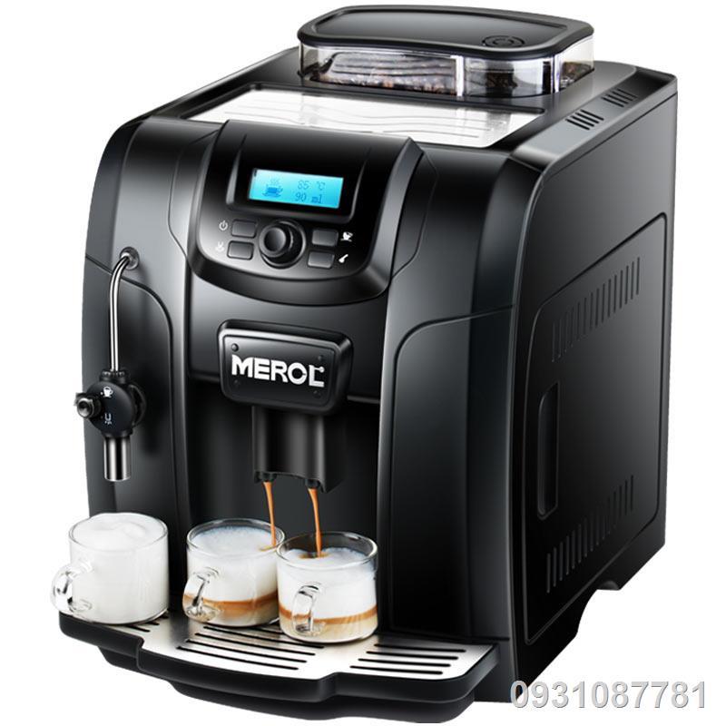 เครื่องชงกาแฟบ้านอัตโนมัติอิตาลีสำนักงานพาณิชย์ถั่วสด All-in-One เครื่องทำฟองนม