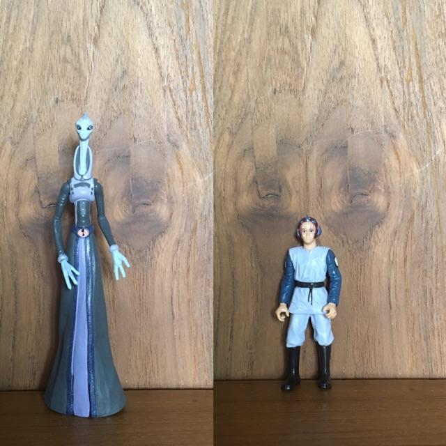 Star Wars Action Figure 1:18 Lama Su & Clone Youth