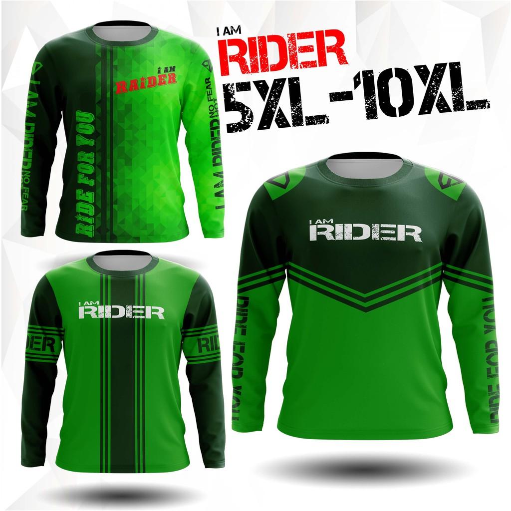 เสื้อไรเดอร์ไซด์ใหญ่ ไม่ใช่ เสื้อแกร็บ ไม่ใช่ เสื้อGrab not Grabfood เสื้อสีเขียว เสื้อสายเขียว by PD