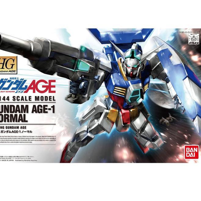 ใหม่ 'Hg Gundam Age-1 Gundam Age-1 Normal Hgage 01 Segera Diorder อุปกรณ์เสริมสําหรับติดรถยนต์