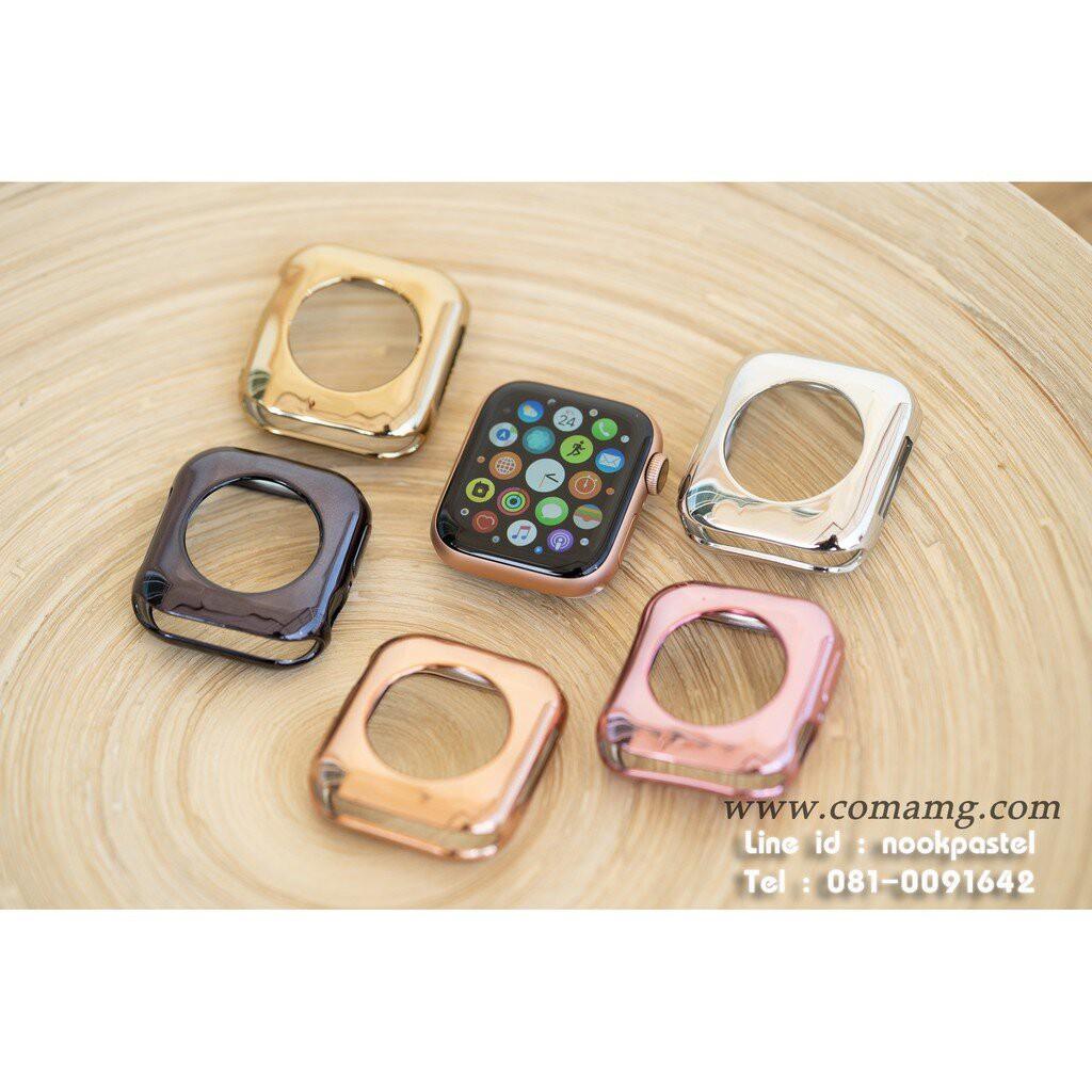 เคส applewatch เคสTPUเงา Apple watch
