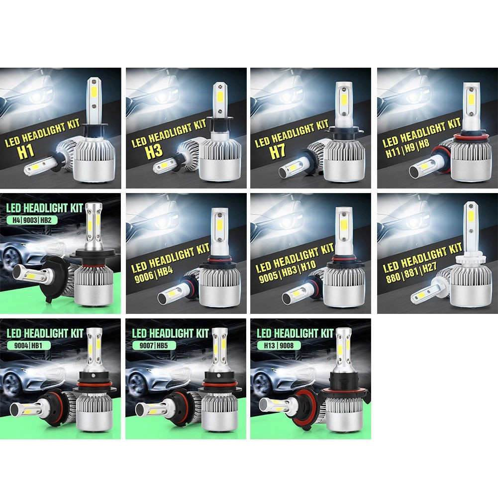 Car Lights Automobiles & Motorcycles Obedient 9005 9006 Hb3 Hb4 H8 H9 H11 5202 H10 Car Styling Led Car Headlight 80w 8000lm Bulb Conversion Led Bulbs Fog Automobile Lamp In Short Supply