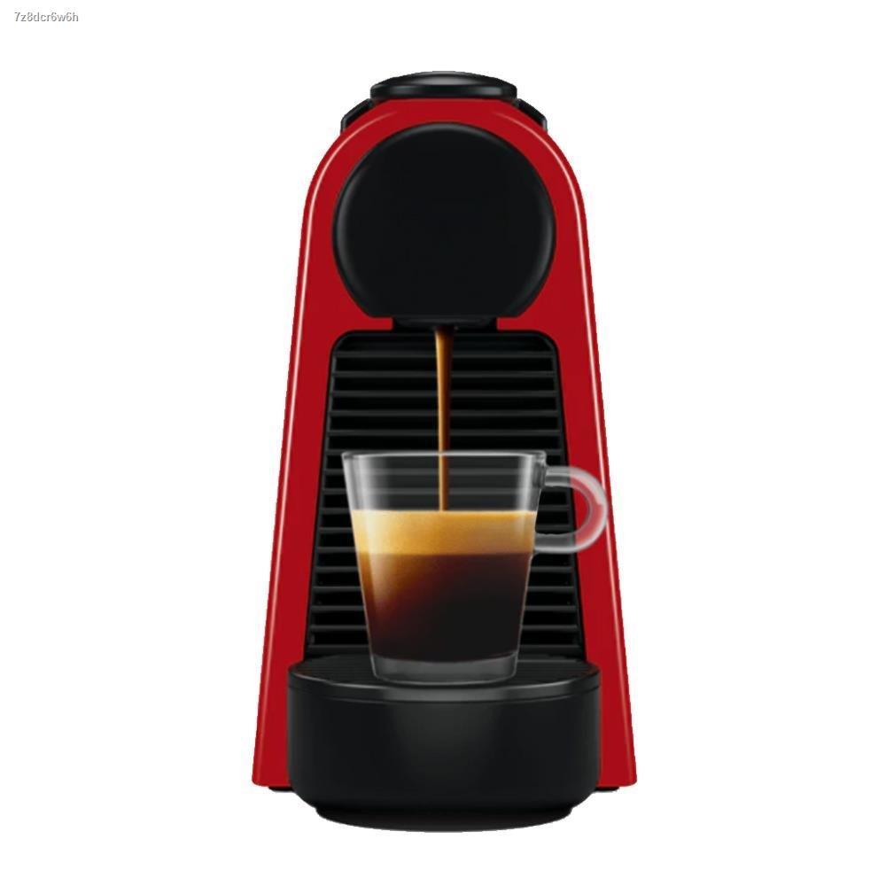 ✣◄●เครื่องชงกาแฟแรงดัน NESPRESSO ESSENZA MINI สีแดง เครื่องทำกาแฟ เครื่องชงกาแฟ เครื่องบดกาแฟ ชงกาแฟ ที่ชงกาแฟ เครื่อง