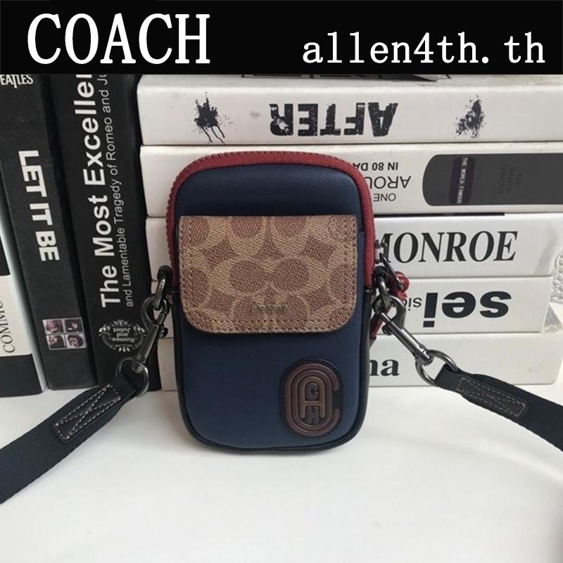 กระเป๋า Coach แท้ F89479 กระเป๋าสะพายข้างผู้ชาย / crossbody bag / กระเป๋ากล้อง / กระเป๋าสะพายไหล่มินิ