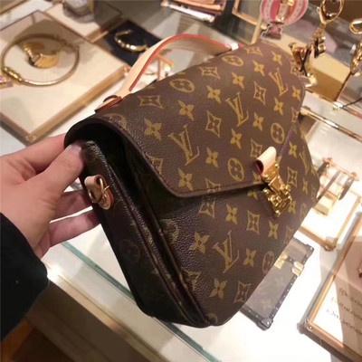 ﹍Ιกระเป๋าเดินทางกระเป๋าสะพายกระเป๋าถือเป้Lv/Louis Vuitton Metis กระเป๋าสะพายข้างลายดอกไม้คลาสสิกกระเป๋าถือกระเป๋าสะพายไห