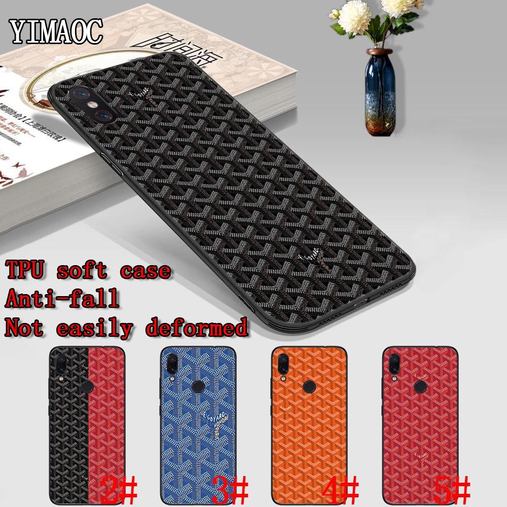 เคสโทรศัพท์แบบนุ่ม redmi note 4x5 6 7 pro 5 a prime 64 t goyard