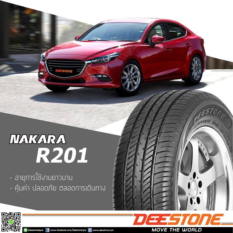 Deestone ยางรถยนต์ 185/65R14 รุ่น Nakara R201 - 2 เส้น (ปี 2021) IKOA
