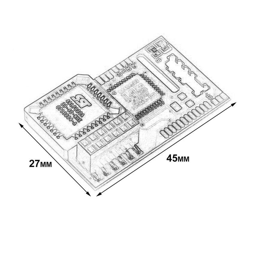 อุปกรณ์สำหรับ Aladdin XT-4032 Machine readable Original Mod Chip สำหรับ Xbox