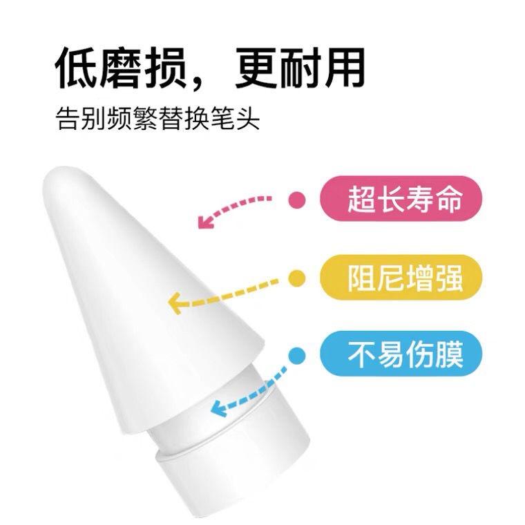 HOT SALE▬❄№ipad ปากกาสไตลัสเดิมเปลี่ยน applepencil ปลายปากกาปกตัวเก็บประจุปากกา applepencil 2 รุ่น