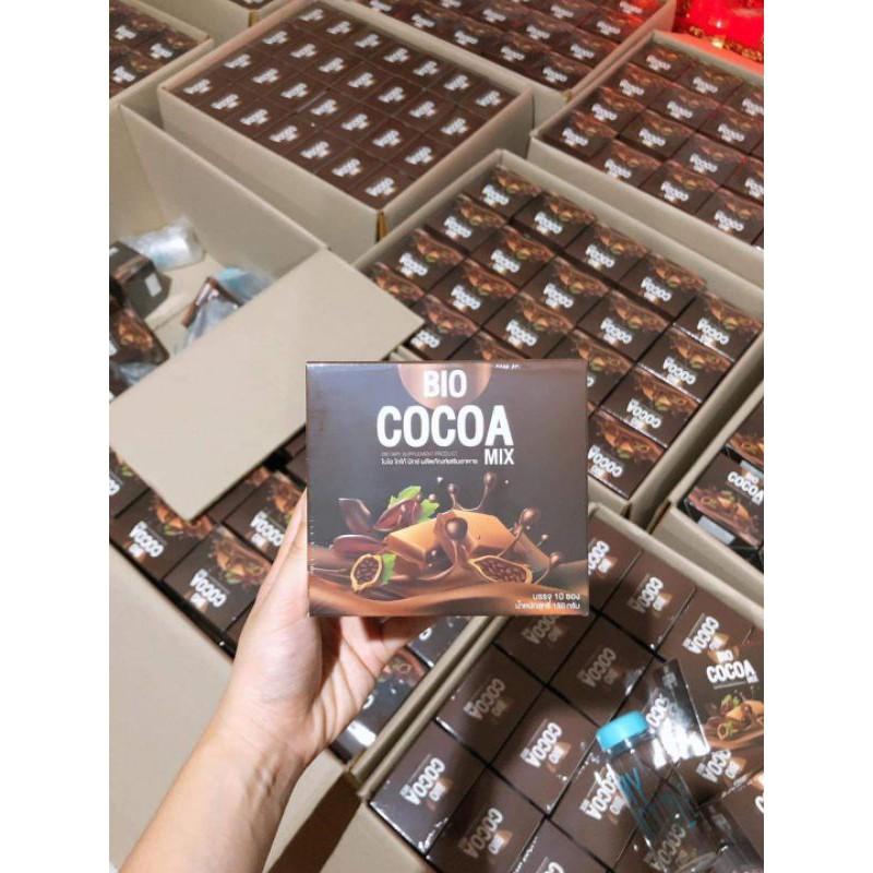 ซื้อ2แถมแก้ว Bio Cocoa Mix ไบโอโกโก้มิกซ์ ไบโอโกโก้