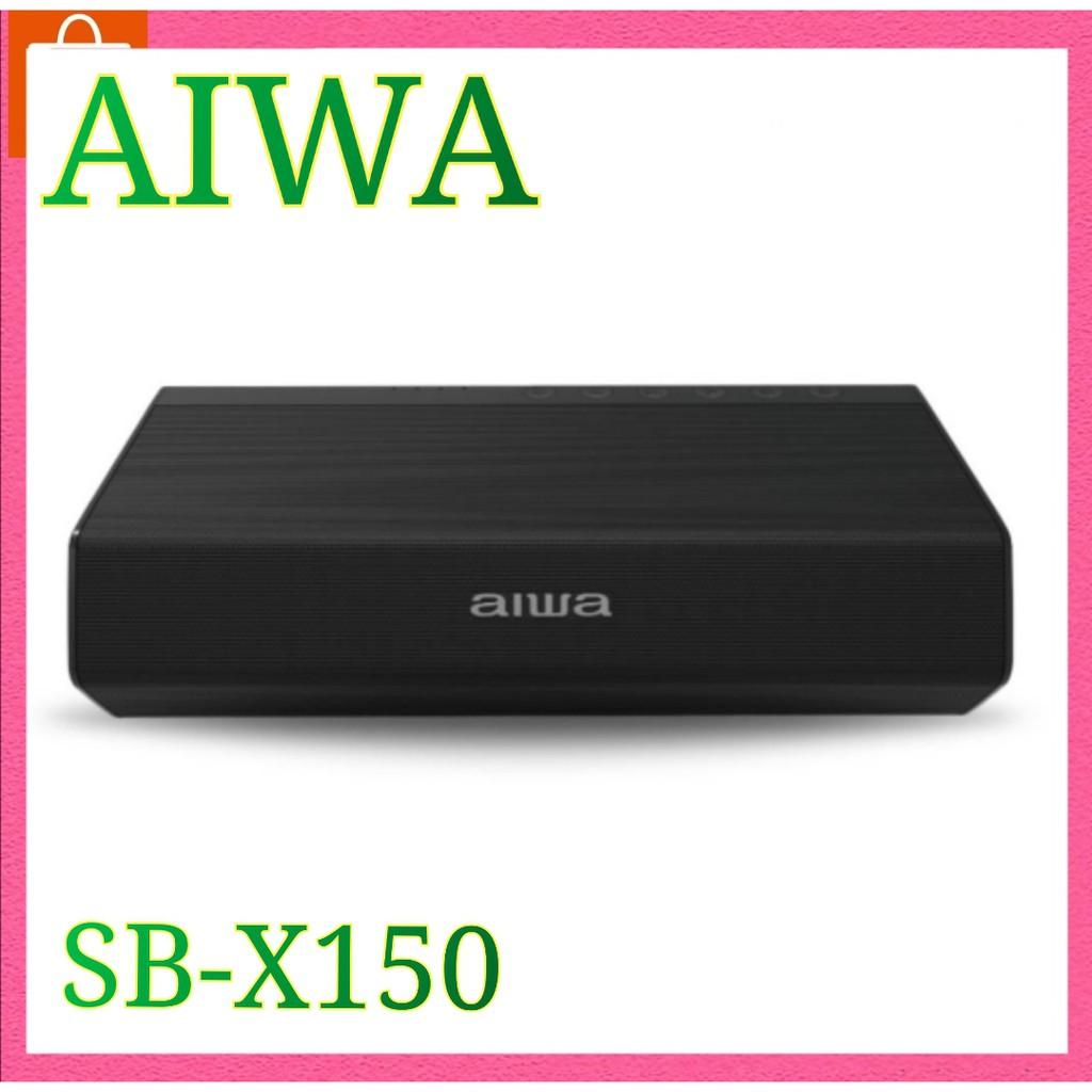 AIWA SB-X150 Bluetooth Speaker ลำโพงบลูทูธพกพา SUPER BASS