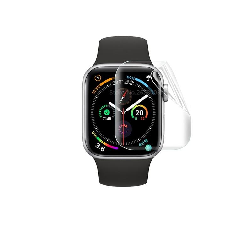 ฟิล์มกันรอยหน้าปัดนาฬิกา กันกระแทก สําหรับ iwatch , Apple Watch ซีรีย์ 4, 5 , 6 ขนาด 44 มม.
