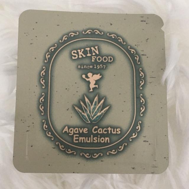Tester Skinfood Agave Cactus Emulsion