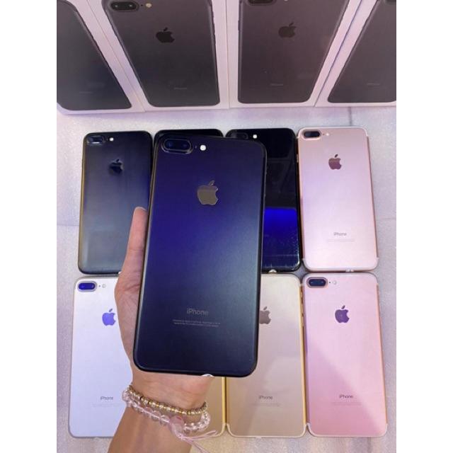 มือถือมือสองApple iPhone 7 plus  เครื่องใช้แล้ว  [เครื่องแท้ 100%]  32GB/ 128GB iphone 8 plus 64G