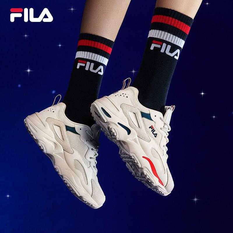 FILAอย่างเป็นทางการFilaพ่อรองเท้าหญิง2021ฤดูร้อนรองเท้าวิ่งTRACERรองเท้ากีฬาคู่ผู้หญิงรองเท้าลำลอง