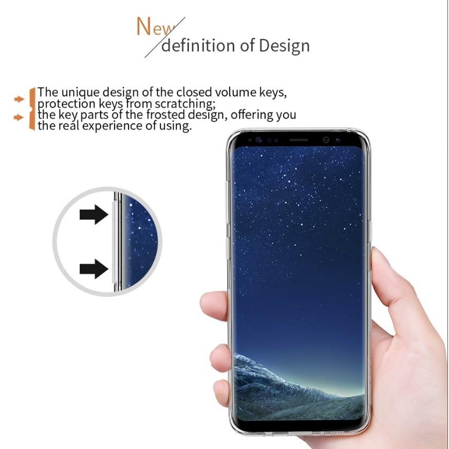Samsung Galaxy S8 Plus - เคสใส Nillkin Nature TPU CASE สุดบาง แท้ - เคสซัมซุง
