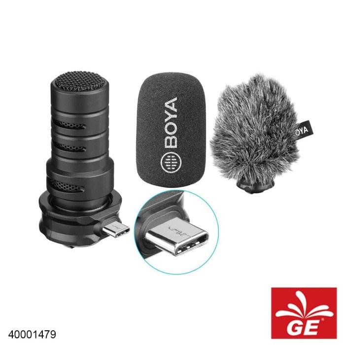 Boya ไมโครโฟน BY-DM100 สําหรับ Android Type-C 40001479