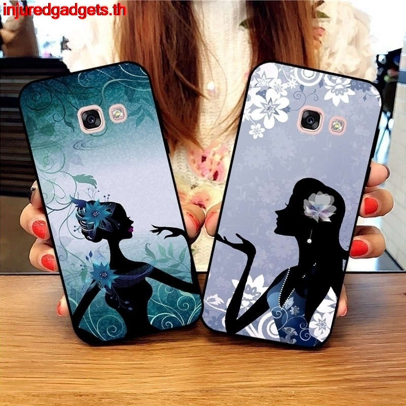 INJ- Samsung A3 A5 A6 A7 A8 A9 Pro Star Plus 2015 2016 2017 2018 WG-HHC pattern-6 Silicon Case Cover