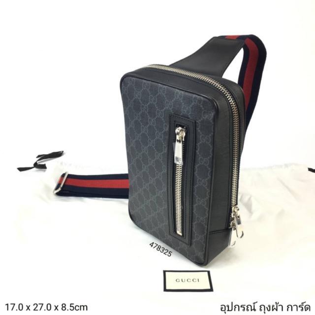 New Gucci supreme belt bag สายยาวรวมกระเป๋า 127cm