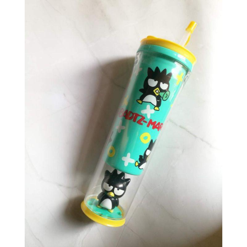 กระบอกน้ำ แก้วน้ำ พรีเมี่ยม 7-11 x Sanrio BadBadtz Maru