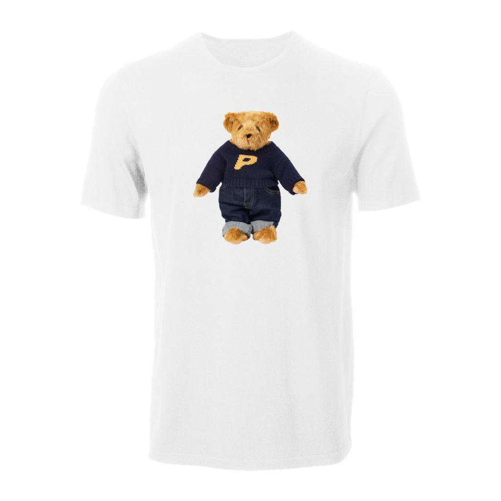 Ralph Lauren Bear X Palace Streetwear Ready Stock 100% Cotton Men'S T-Shirt Birthday Gift