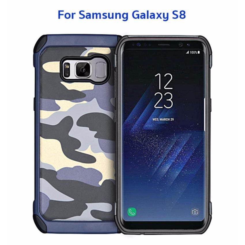 NX Case รุ่น Camo Series เคสลายทหาร กันกระแทก ของแท้ สำหรับ ForSamsung Galaxy S8 #472
