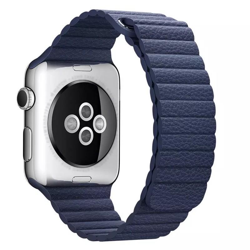 สายนาฬิกา# สายสำหรับ AppleWatch แบบ Leather Loop 38/40, 42/44 mm. watch 1/2/3/4/5:6/SE สาย สำหรับ applewatch