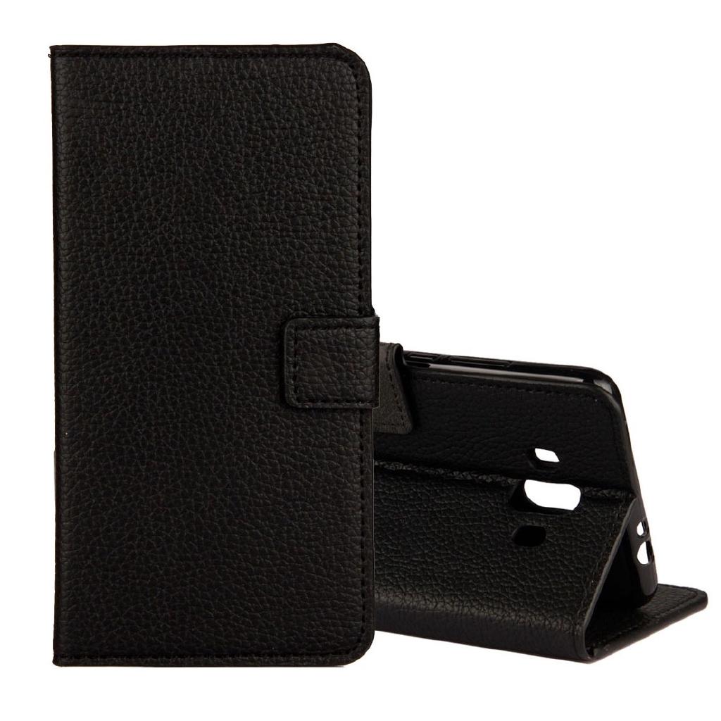 Xiaomi Redmi 5 Plus Litchi Texture Horizontal Flip Leather Case with Holder & Card Slots & Wallet | Shopee Thailand