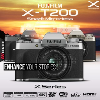 Fujifilm Camera X-T200 kit 15-45 mm. เมนู ENG  [รับประกัน 1 ปี By AVcentershop]