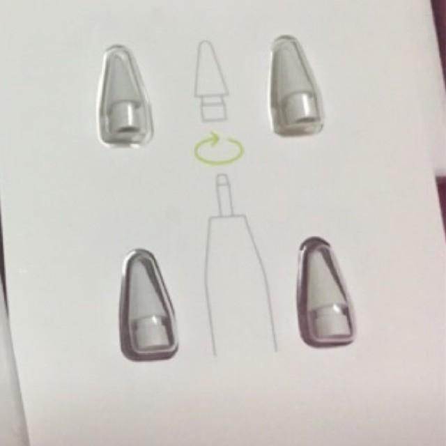 แท้/พร้อมส่ง (ปลายดินสอ ipad) Apple Pencil Tip (ใช้ได้ทั้งApple pencil 1, 2) ednE