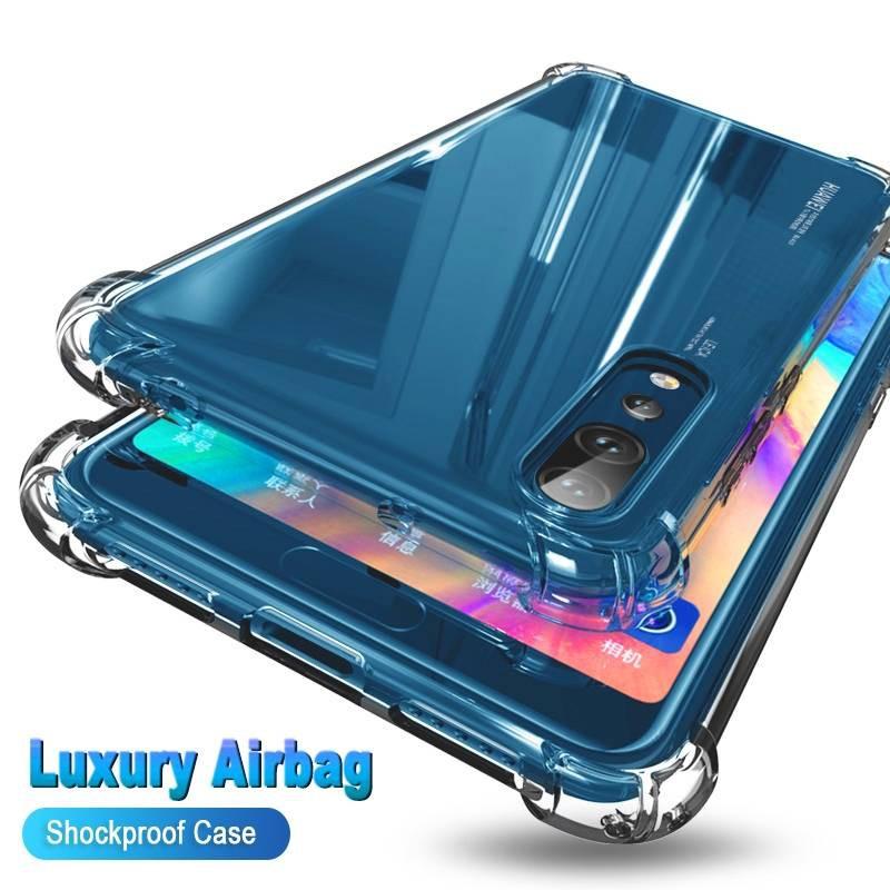 เคสใสกันกระแทก เคสนิ่มกันกระแทกรอบด้าน Apple iPhone 11 iPhone 12 Mini Pro Max Plus TPU Case clear silicone case