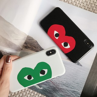 Review เคส iPhone X XS Max XR iPhone 11 Pro Max 6 6S Plus iPhone 7 8 Plus PLAY Love Heart Soft Case