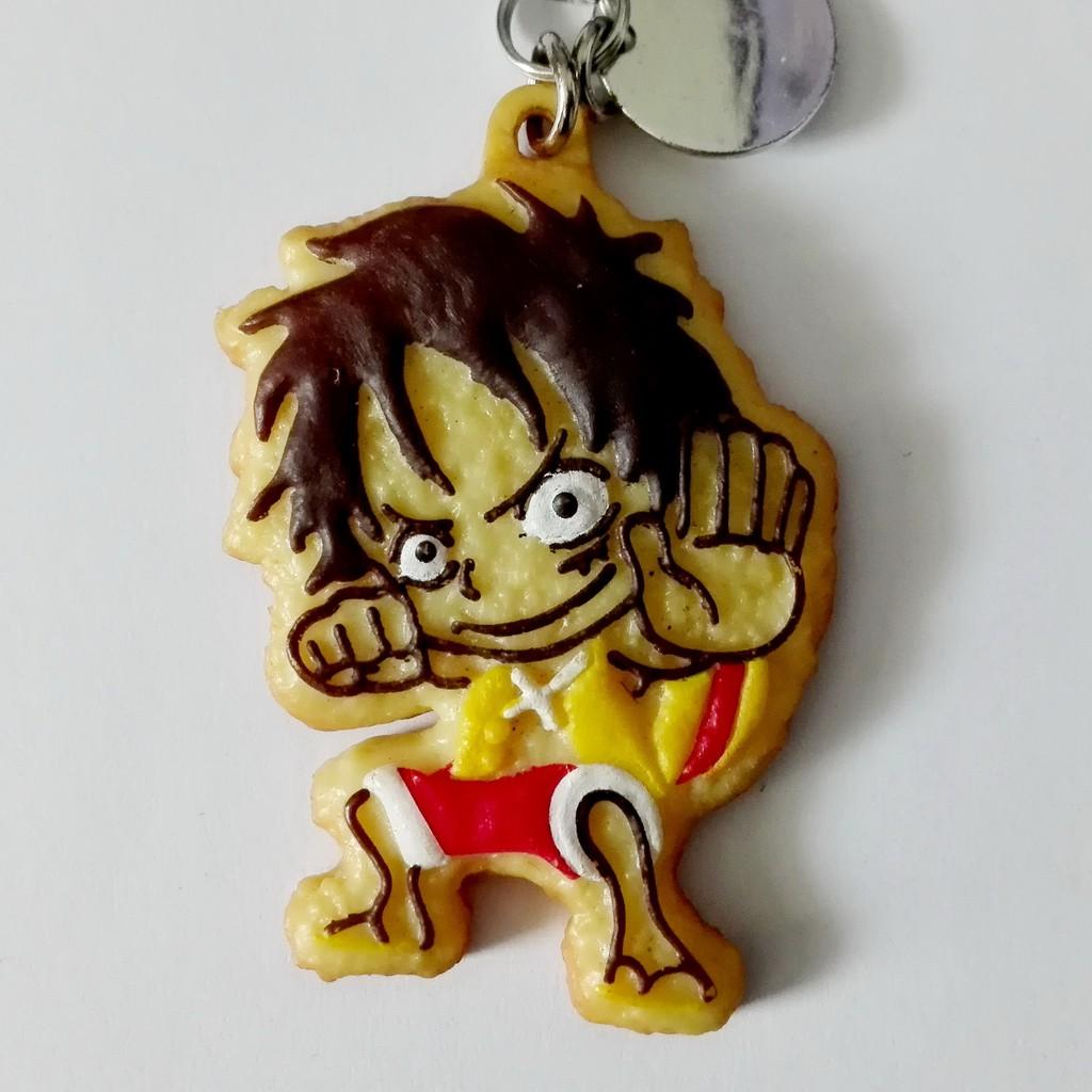ลูฟี่ พวงกุญแจ ห้อยกระเป๋า วันพีช อนิเมะ ฟิกเกอร์ โมเดล Monkey D. Luffy ONE PIECE FIGURE Model lipton ของแท้