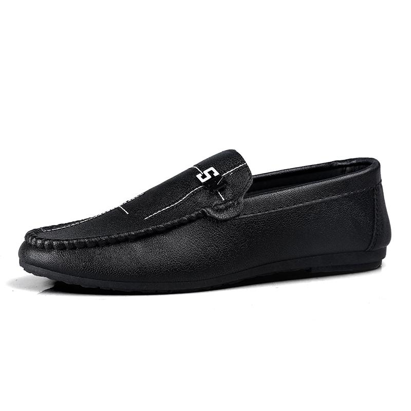 Casual รองเท้าหนัง รองเท้าคัชชู เสื้อผ้าเด็กผู้ชาย รองเท้าหนังลำลอง Men Loafers
