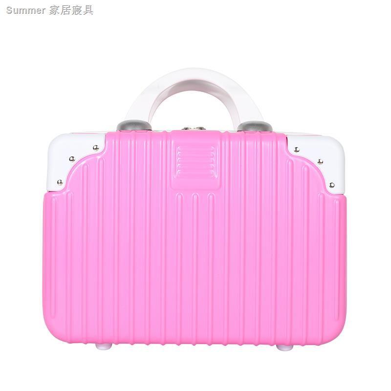 กระเป๋าเดินทางล้อลากขนาดพกพาสไตล์เกาหลีขนาด 14 นิ้ว