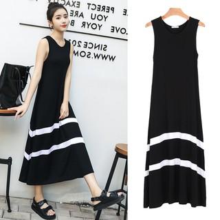 168b38b21702a 2019 New Style Dress Milk Silk Dress Female Loose L Tank Dress Outer Wear  Dress