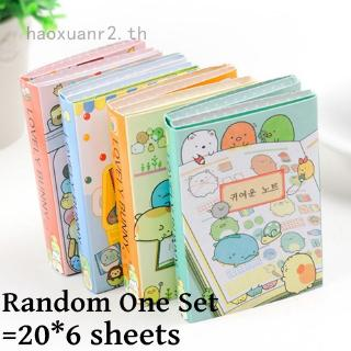 Review haoxuanr2 Bunny 6 Folding Memo Pad N Times Sticky Notes Memo Notepad Animals Bookmark Sticker Diary Diy Tool