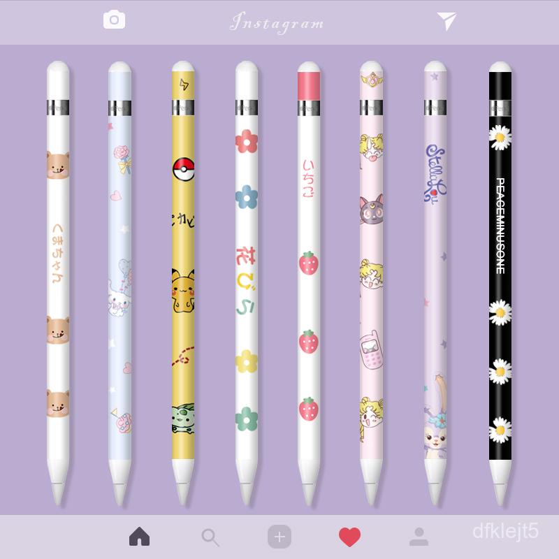 ปากกาโทรศัพท์★applepencilสติกเกอร์ Applepencilฟิล์มipadสติกเกอร์ปากกาเขียนด้วยลายมือสติกเกอร์กันลื่นรุ่นแรกและที่สอง2การ