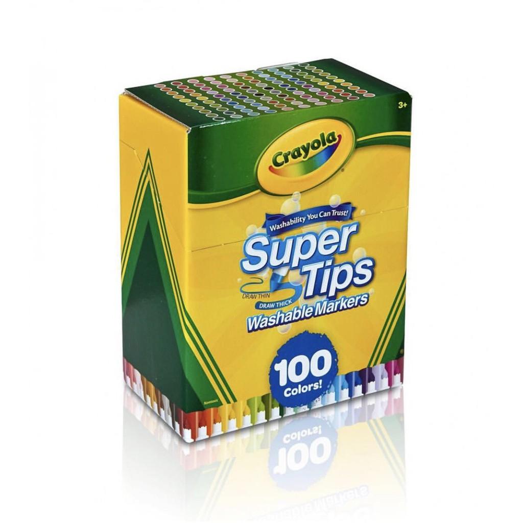 สี Crayola Supertips (100 สี)